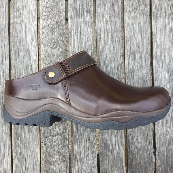 Ladies Leather Clog