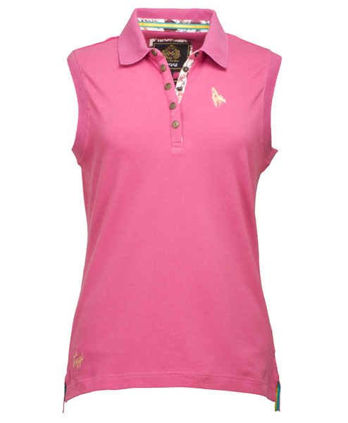 Toggi Ladies Alassio Sleeveless Polo Shirt