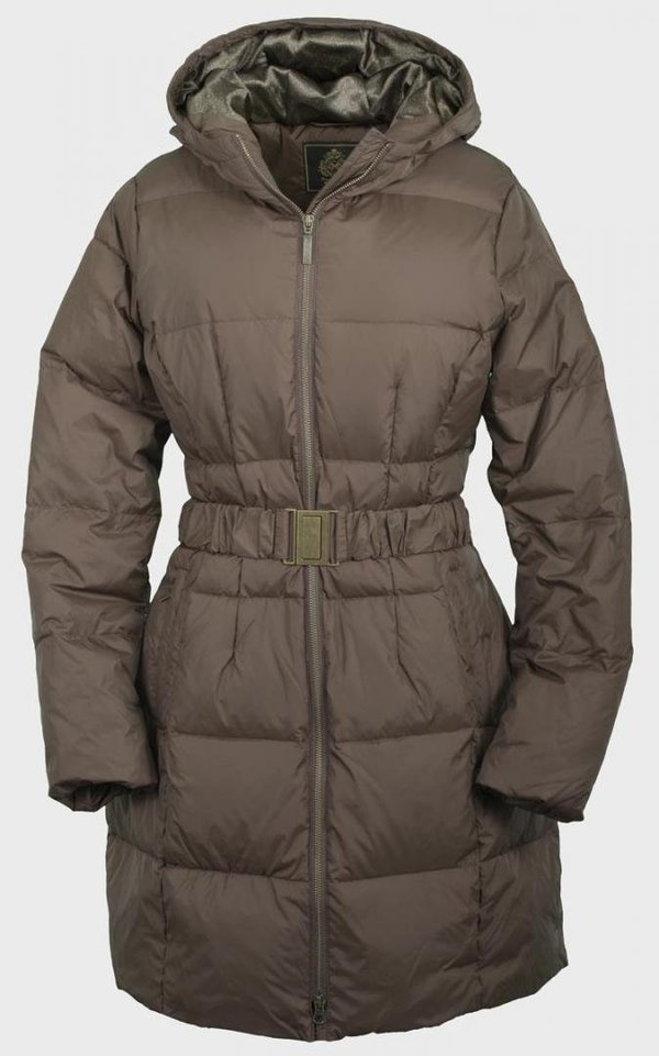 Toggi Ladies Long Down Filled Coat - Size 14