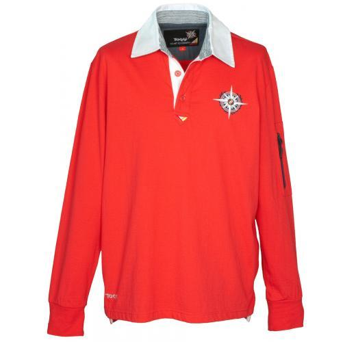 Toggi Mens Rugby Shirt - Red